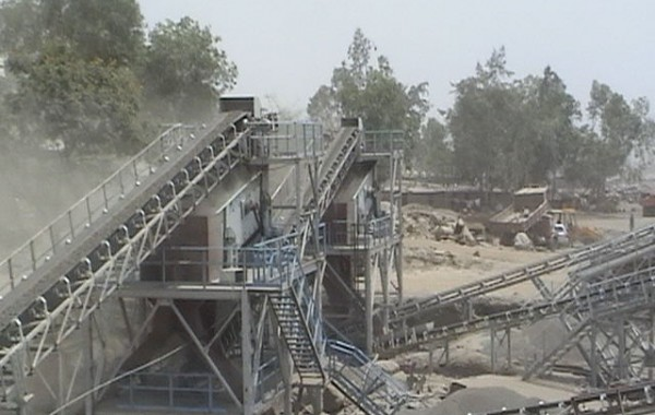 Blue Metal Crushing