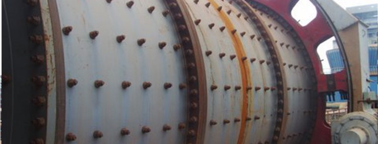 Ball Mill Erection